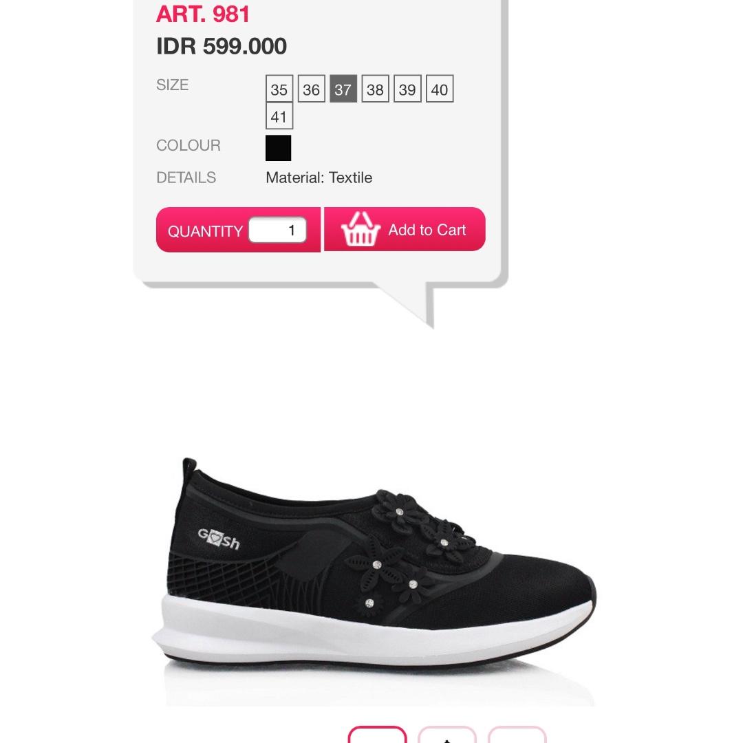 Sepatu merek GOSH (new) 404cdfd096