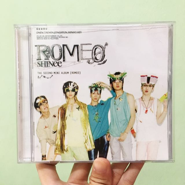 SHINee The Second Mini Album: ROMEO