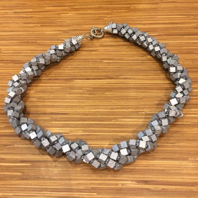 Silver/Gray Necklace