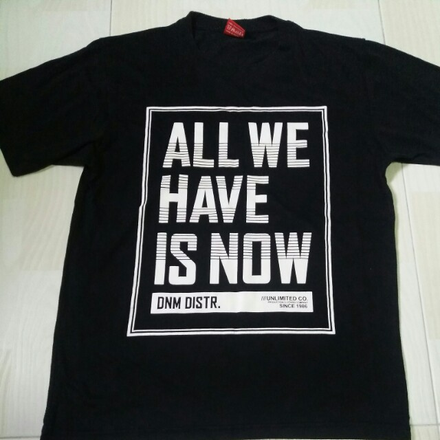 Simple black t-shirt with design, Men's Fashion, Clothes on Carousell