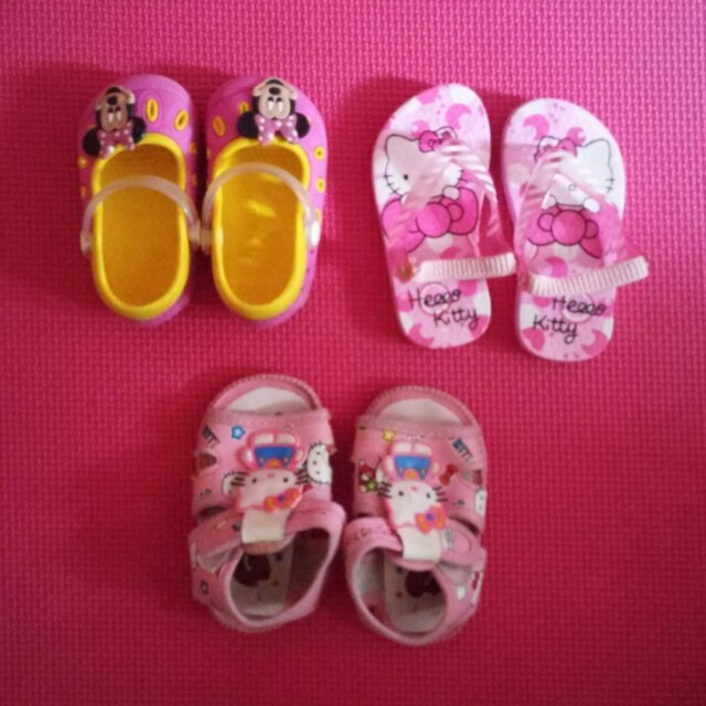 slippers & sandals take all (mark down price)