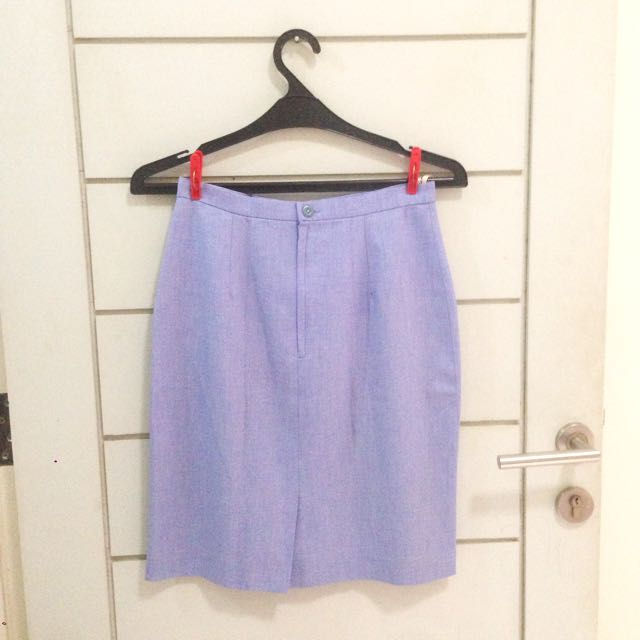 Soft Purple Bodycon Skirt