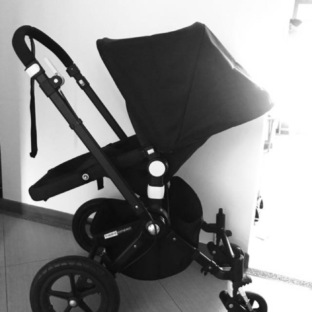 Fonkelnieuw Special edition Bugaboo Cameleon all-black, Babies & Kids BV-85