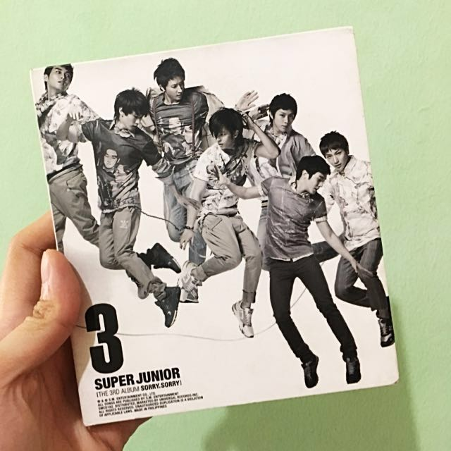 Super Junior 3rd Album: Sorry, Sorry