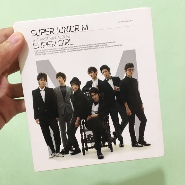Super Junior M The First Mini Album: Super Girl