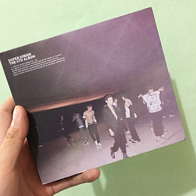 Super Junior The 4th Album