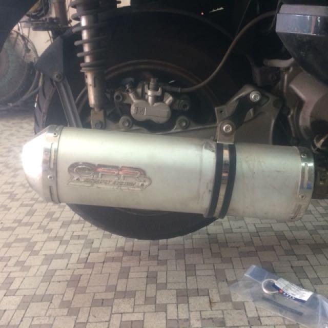 SYM GTS 200cc GPR Exhaust (Legal)