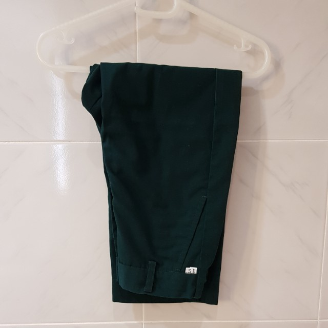 Take 5! Green School Pants. Fit 4-7yrs old