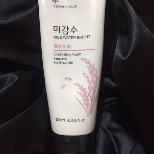 The FaceShop Rice Water Bright Cleansing Foam