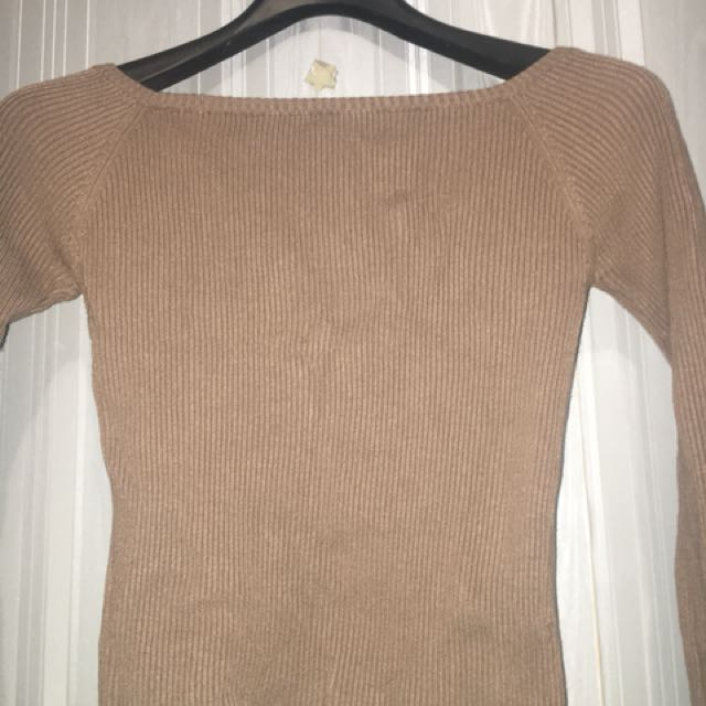 Thick brown long sleeve