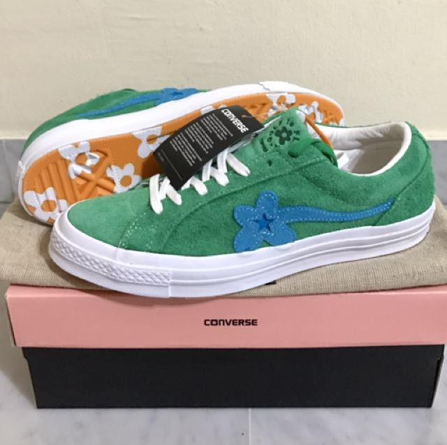 Us9 Converse X Golf Le Fleur Green Men S Fashion Footwear