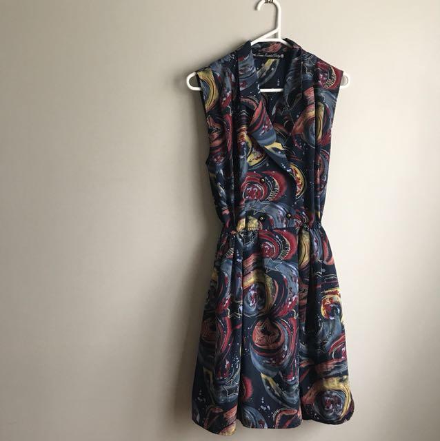 Vintage DB Space Dress Smoove