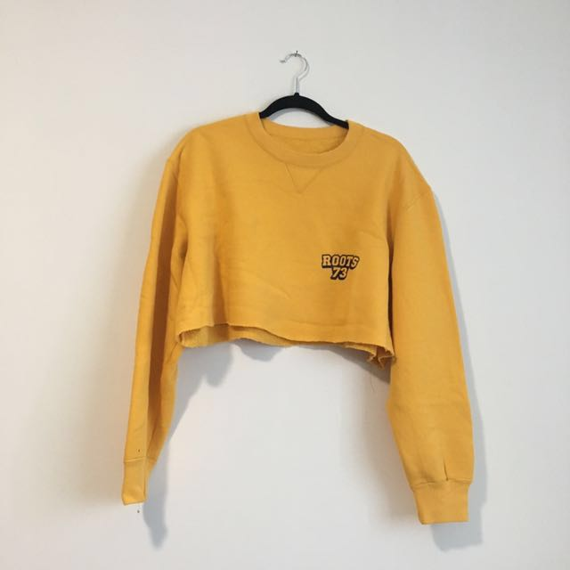 Vintage Roots Cropped Sweater
