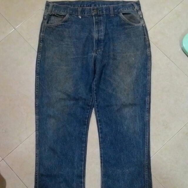 Vintage Saddle King Denim Jeans Mens Fashion Clothes On Carousell