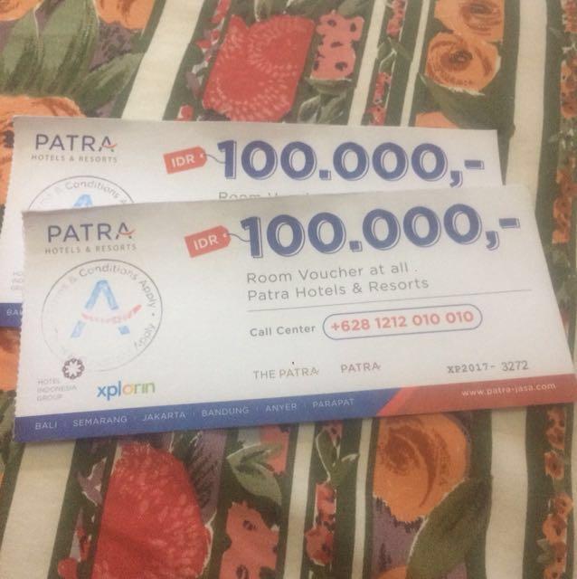 Voucher Hotel Patra Jasa