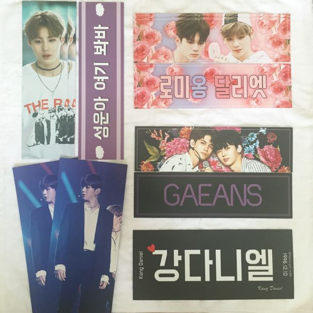 Wanna One Fansite Banners 2 Entertainment K Wave On Carousell