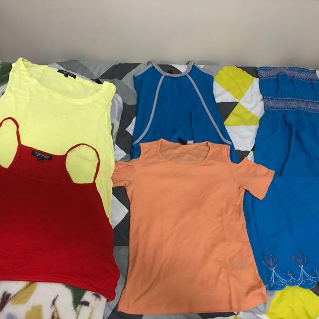 Women's bulk clothing