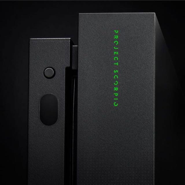 Xbox One X Project Scorpio 行貨 紀念版 限定版 印字 11月7號取
