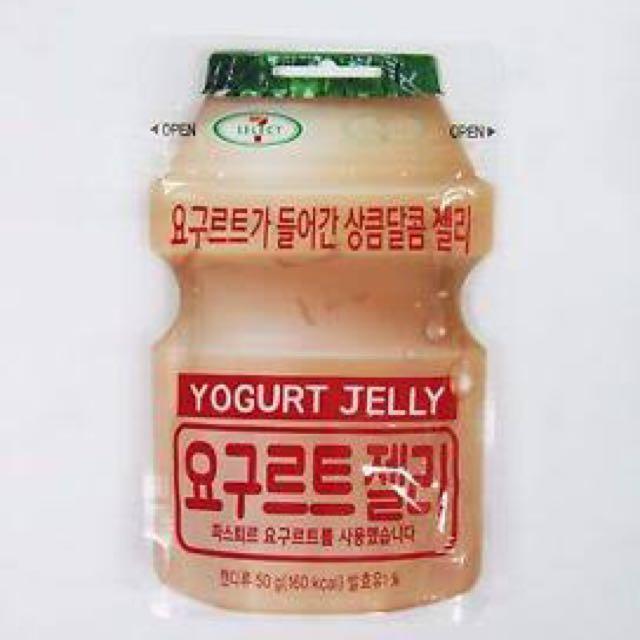 Yogurt jelly drink (only in Thailand)