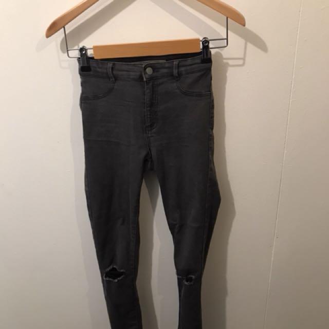 Zara grey jeans EU 34