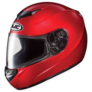 HJC Motorcycle Motorbike Helmet CS-R2 Helmet (Candy Red, X-Small) X-Large = $259
