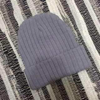 🌵灰色針織毛帽