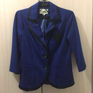 Forever 21 Boutique Blue Blazer (M)