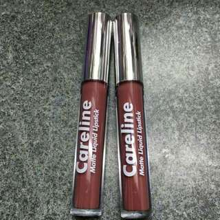 Careline Matte Liquid Lipstick Brick'd