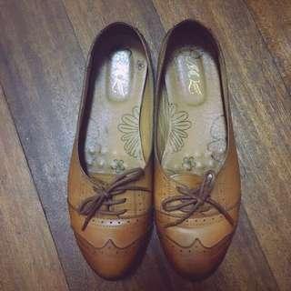 學院風平底鞋(Size:8.5/25.5/41)#交換最划算