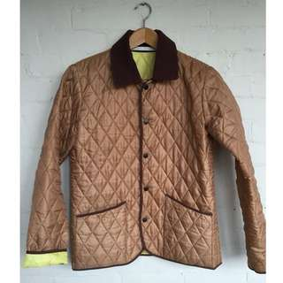 London Tradition Camel Quilted Jacket