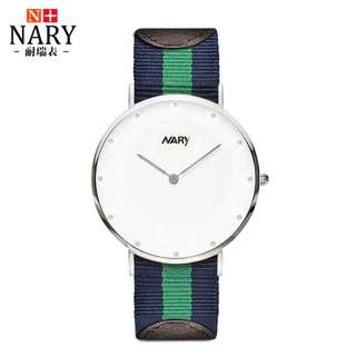 Nary couple nato dw style watch. Comes in 2 sizes.