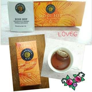 有機養生保健草本茶 - 玫瑰果茶包 / Organic Rose Hip Tea Bags
