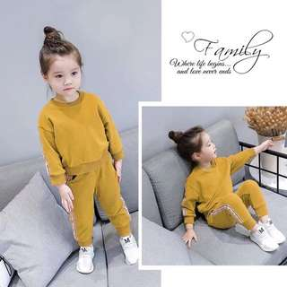Korea style baby girl fashion cloth set