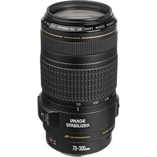 Canon 70-300mm f/4-5.6 IS USM Lens