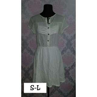 Unica Hija White Polo Dress