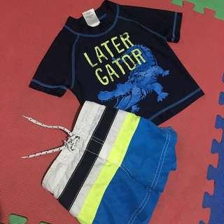 Carter's swim wear set (12mos+)
