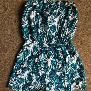 Strapless Playsuit bnwt