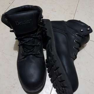 Oil Resistant Leather Boots