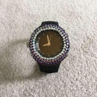 Cute Bling Bling Watch