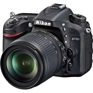 Nikon DSLR D7000 body + lens for rent! Suitable for holiday or learning to use dslr