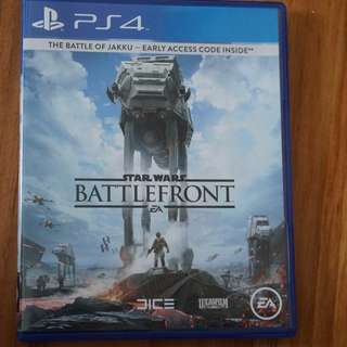 Star Wars Battlefront Play Station 4 (ps4) version US ntsc