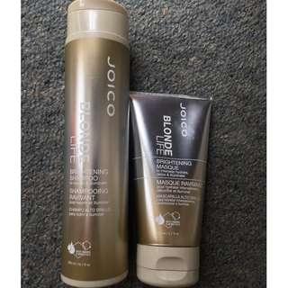 Joico Blonde life Shampoo and Mask
