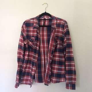 Unisex flannel
