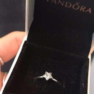 Pandora Star Ring Size 52
