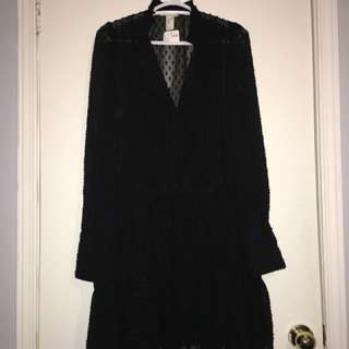 H&M Sheer Dress size 6
