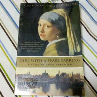 Girl With A Pearl Earring by: Tracy Chevalier