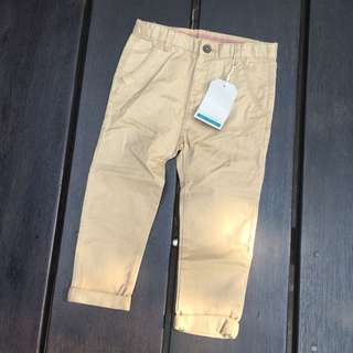 Zara baby boy chinos 3/4 years