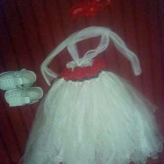 Tutu dress set