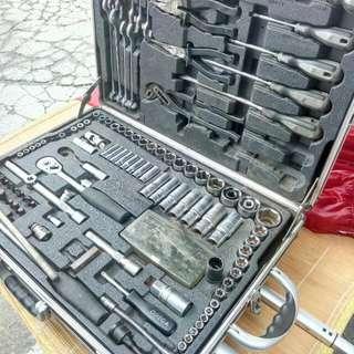 套筒 工具箱 Omega 移動式