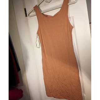 Forever 21 Bodycon Dress Pink (size small)